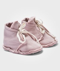 Gray Label Raw Edged Booties Vintage Pink Rosa