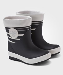 Hummel Hummel Kids Rubberboot Warm Li Black Sort