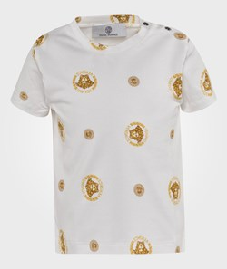 Young Versace T-Shirt White/Gold