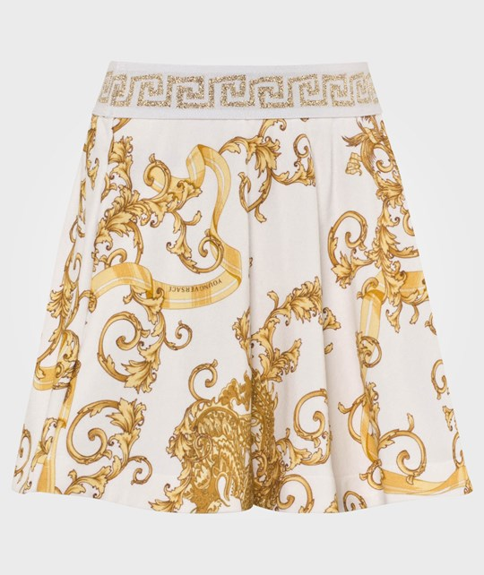 Young Versace Skirt White/Gold White