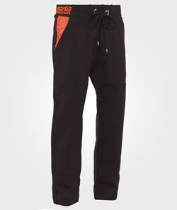 Versace Pant Black/Orange