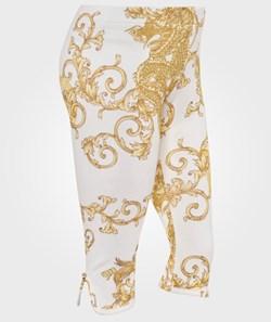 Young Versace Pant White/Gold