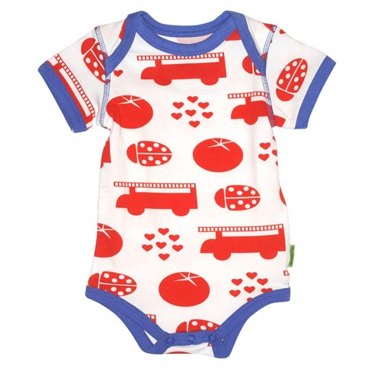 Plastisock SS Onesie Red things Fiery Red Red