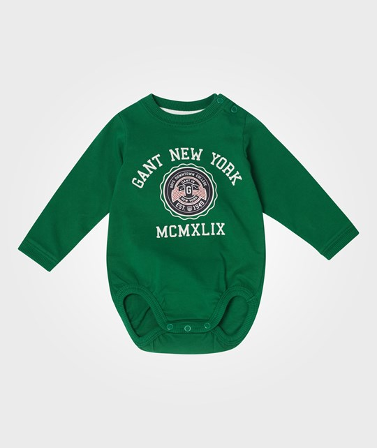 Gant Boy Gant New York LS Body Racing Green Grønn