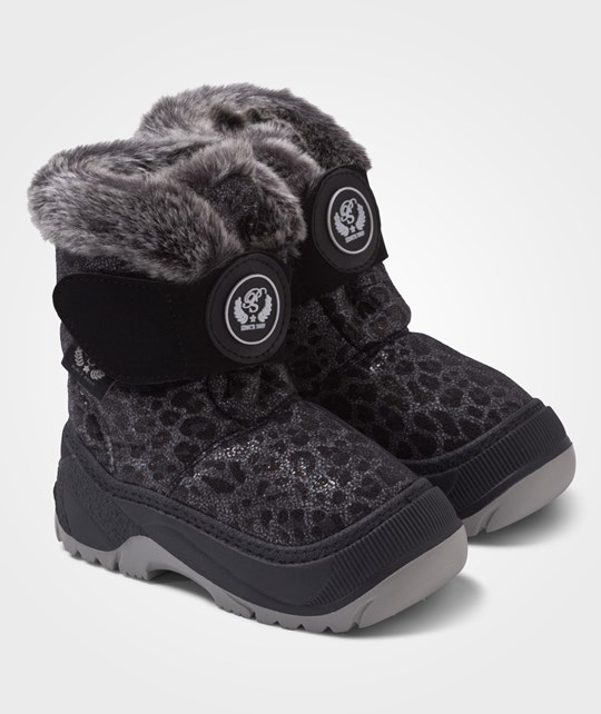 Petit by Sofie Schnoor Quilted Snow Boot Leopard Multi Multi