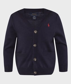 Ralph Lauren Lsl Cardigan Pp Hunter Navy