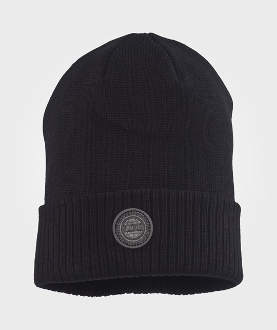 Someday Soon Beanie Black Svart