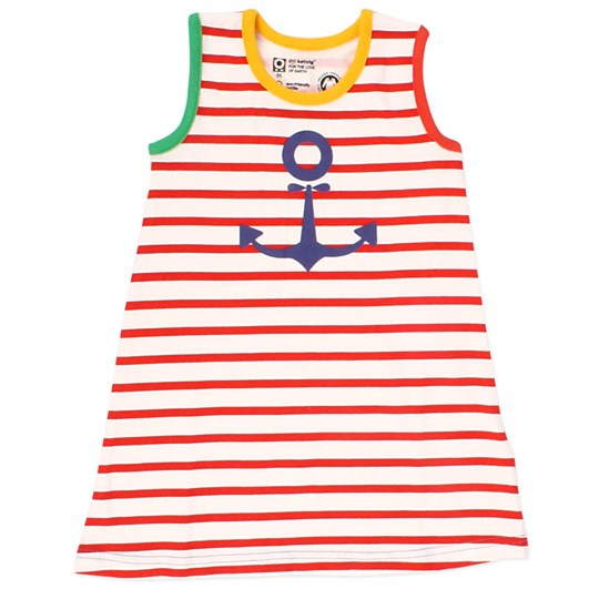 Katvig Sleeveless Dress Red Sailor Multi