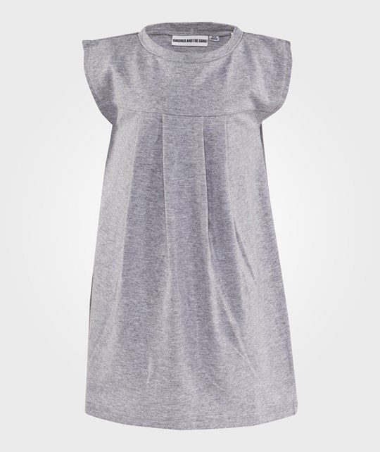 Gardner and the gang Pleated Dress Stay Cool Grå