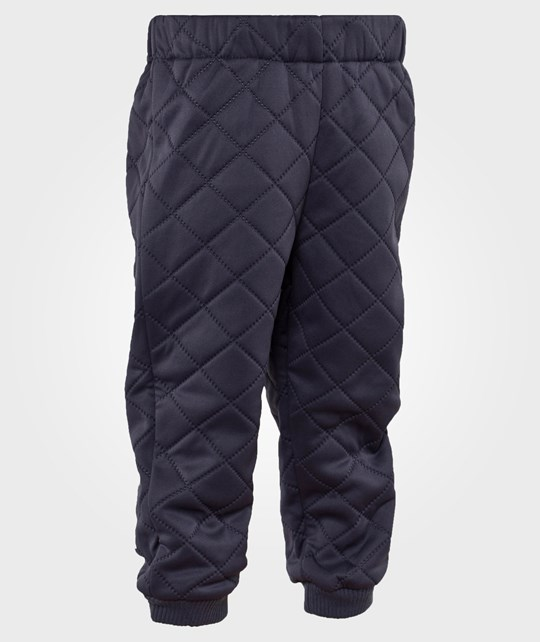 Wheat Thermo Pants Darkblue Blå