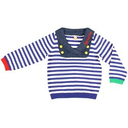 Katvig L/S T-Shirt Blue Sailor Knit