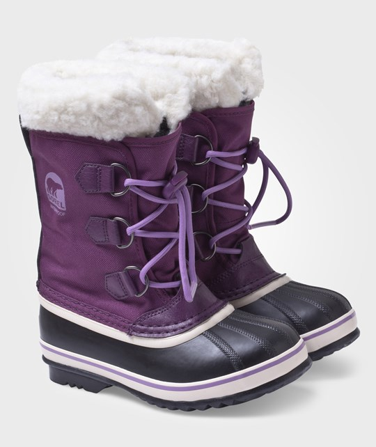Sorel Yoot Pac Nylon Bramble/Black Purple