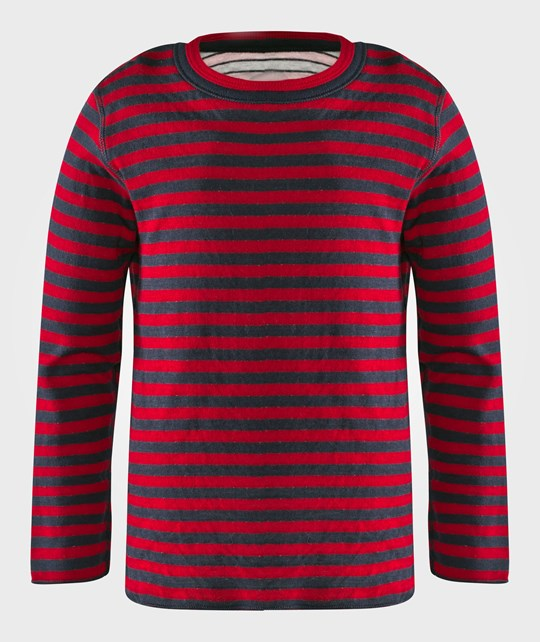 Petit Bateau Sweater Navy/Wine Red Multi