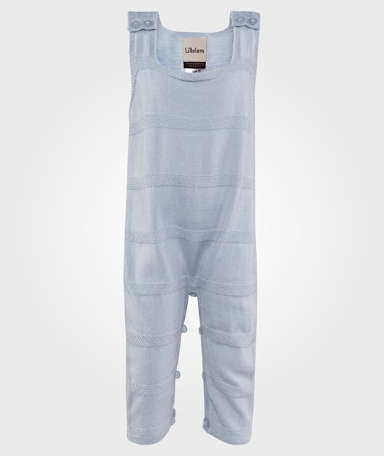 Lillelam Playsuit Thin Lightblue Blå