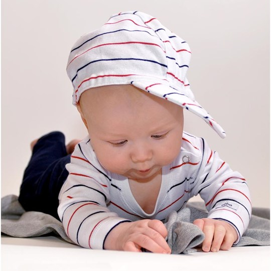 ebbe Kids Cap Elvis White/Red/Navy White