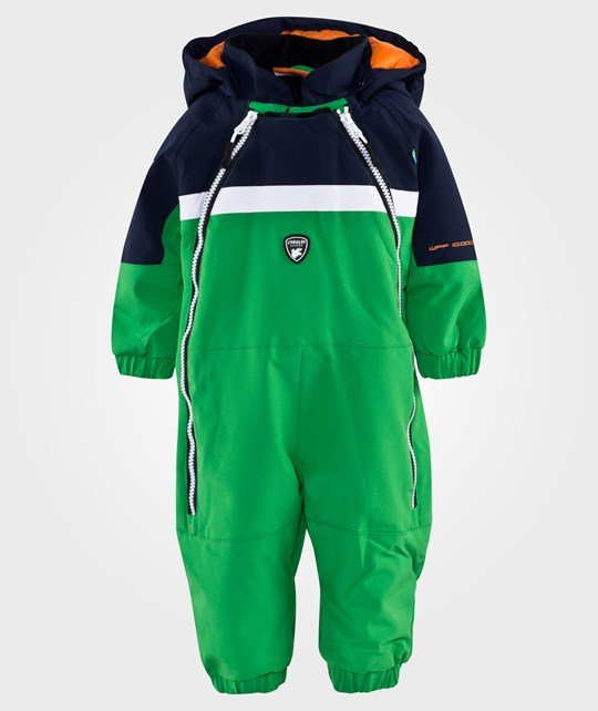 Lindberg Vermont Baby Overall Green Navy Green