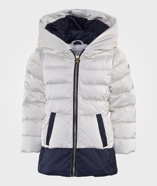 Emporio Armani Bicolore Two Tone Down Jacket Multi