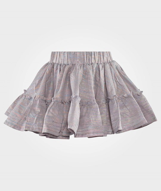 How To Kiss A Frog Elin Skirt Silver Silver
