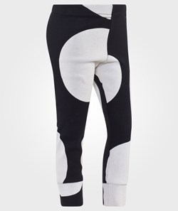 NUNUNU Circle Leggings Black