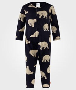 Tinycottons Bears OnePiece Navy
