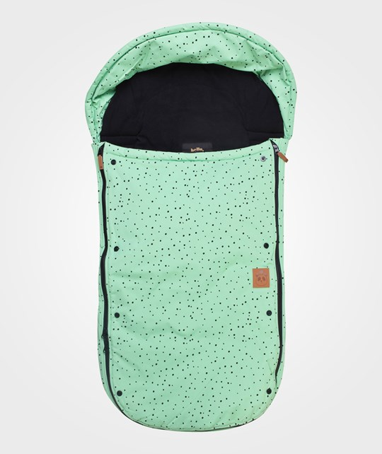 Mini Rodini Toe Muff AOP Green Green