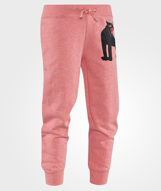 Mini Rodini Panther SP Sweatpants Pink Mel Pink Mel