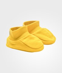 Mini Rodini Paw SP Sweat Boot Yellow Yellow