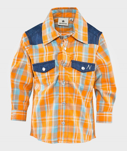 Nova Star Davin Shirt Orange Orange