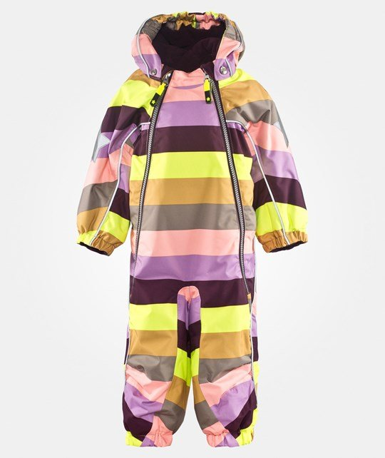 Molo Pyxis Baby Snowsuit Girly Rainbow Multi