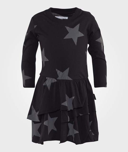 NUNUNU Star Tutu Dress Black Svart