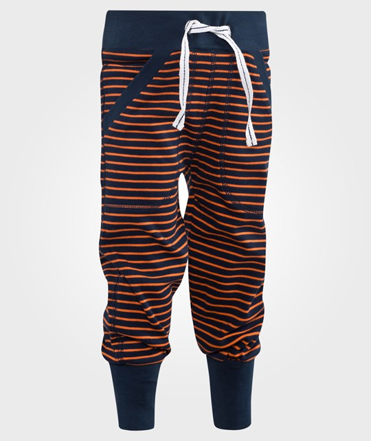 Geggamoja Longpants Marine/Orange Blå