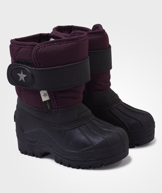Molo Driven Boots Black Grape Black
