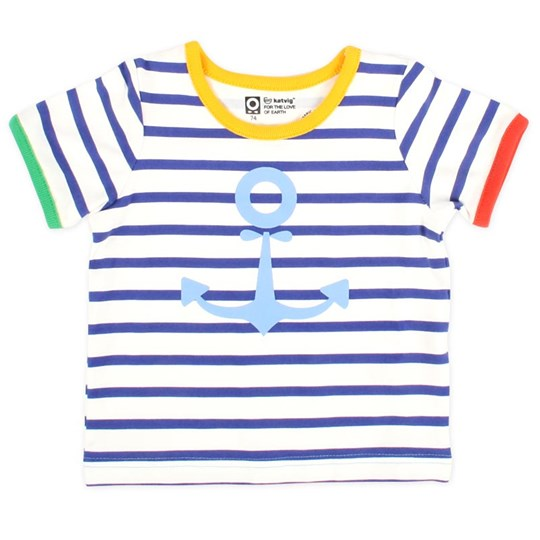 Katvig S/S T-Shirt Blue Sailor Multi