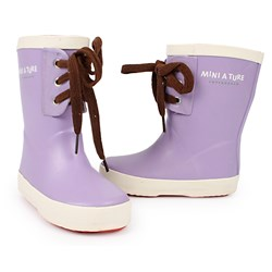 Mini A Ture Rubber Boots Purple