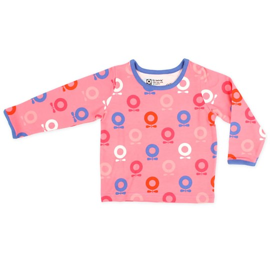 Katvig L/S T-Shirt Coral Space Apple Pink