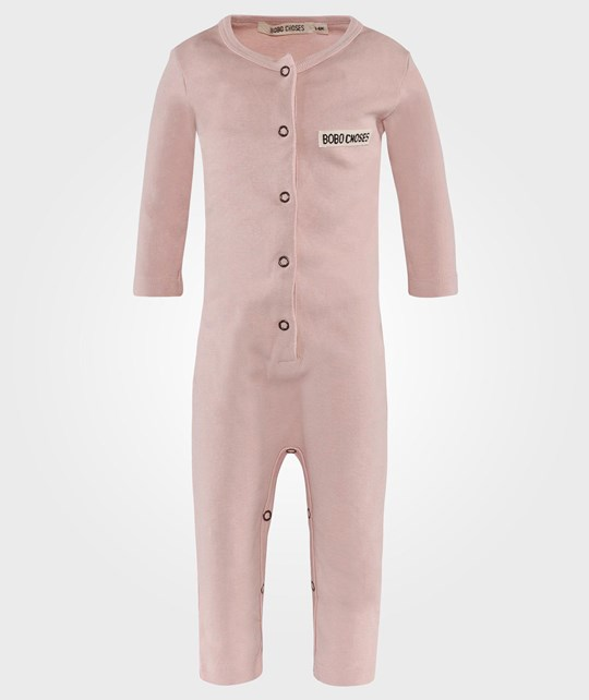 Bobo Choses Baby Jumpsuit Hare  Lyserød