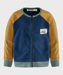 Bobo Choses Sweatshirt zip Sherpa Blue