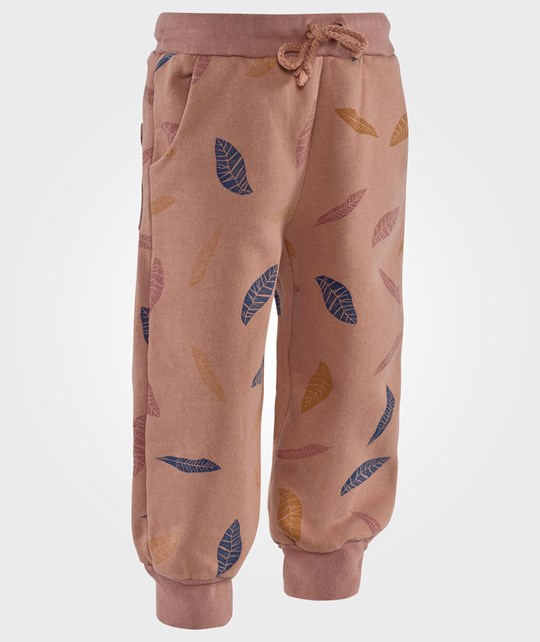 Bobo Choses Trousers Leaves AO Brown