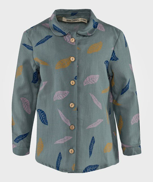 Bobo Choses Shirt Leaves AO Green