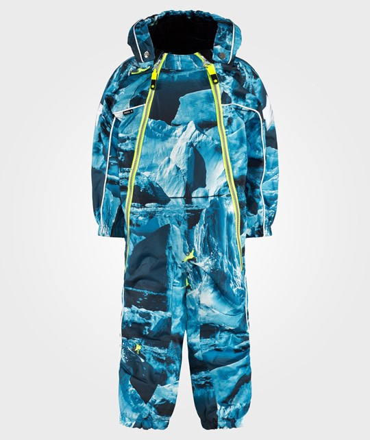Molo Pyxis Baby Snowsuit Ice Surf Multi