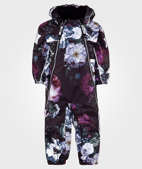 Molo Pyxis Baby Snowsuit Winter Floral Multi