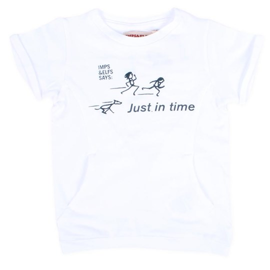 Imps & Elfs T-Shirt Just In Time White