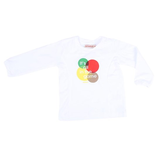 Imps & Elfs L/S T-Shirt In The Game White