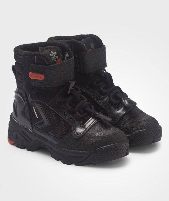 Hummel Hummel Robustus Jr Hi Black/Black Sort