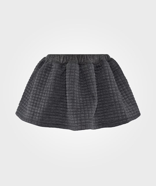 Christina Rohde Skirt Dark Grey Melange Grå