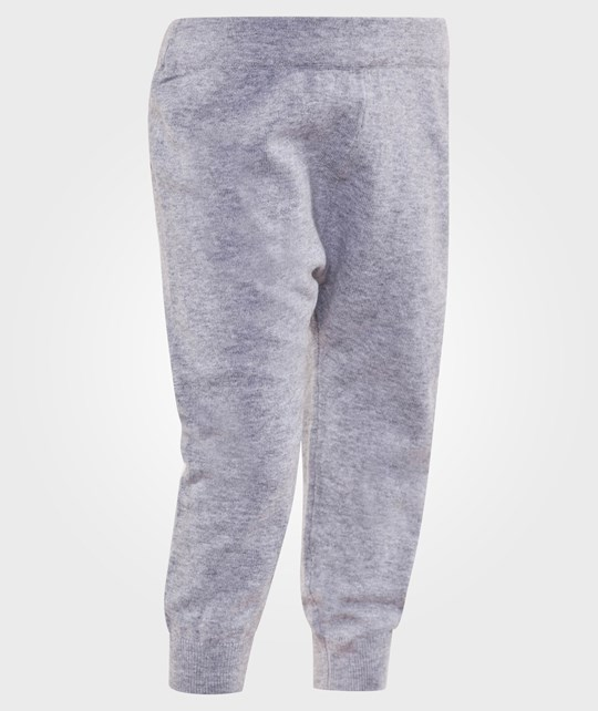 The Bonnie Mob Knitted Stretch Jogging Style Trouser Grey Grå