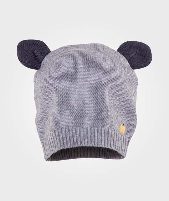 The Bonnie Mob Hat With Ears Grey Grey