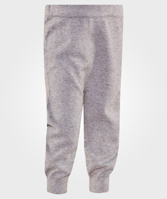 The Bonnie Mob Jogging Style Knit Trouser Grey Grå