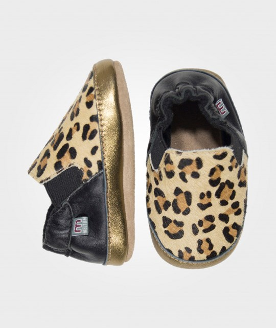 Melton Slip-On Shoe, Pony Le Leopard Brown
