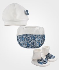 Absorba Hat + Booties Ecru Ecru